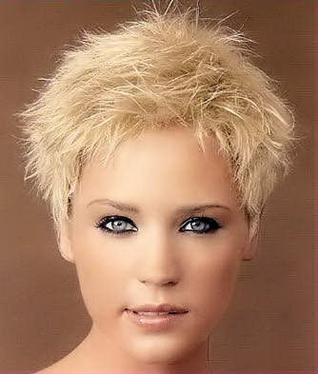 blonde short spiky haircuts for women spiky short haircuts for women