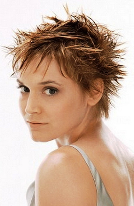 Short Spiky Hairstyles with Bangs short …