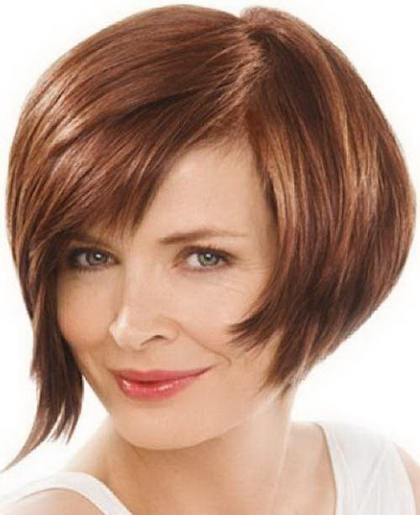 Stacked bob hairstyles are short layered hair from the back of the bob ...