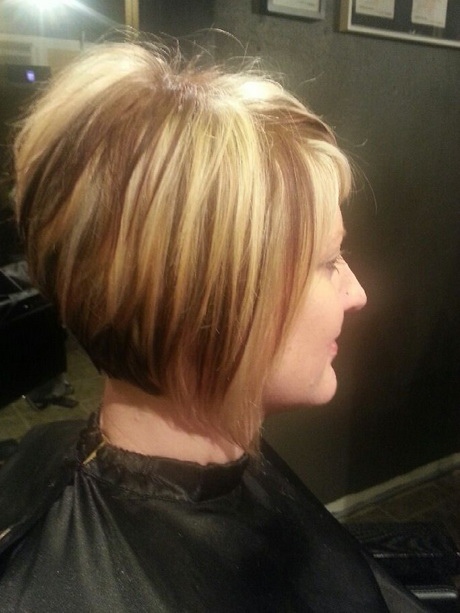 Short choppy stacked haircut. Pinned by Melinda Middlebrook