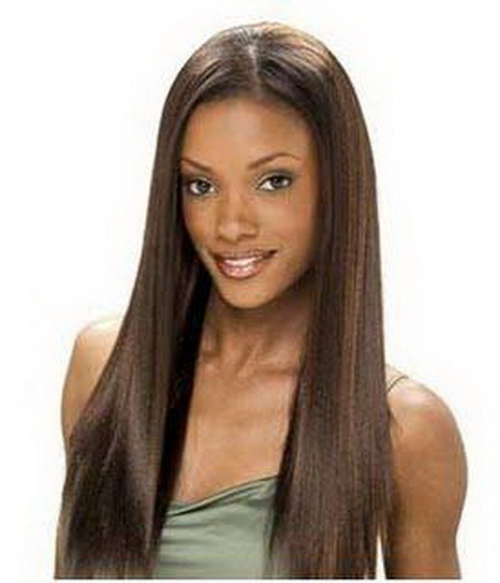 Full Weave Hairstyles With Bangs | hairstylegalleries.com