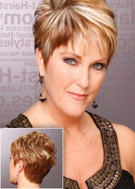 Short Spiky Hairstyle Women Over 40 | newhairstylesformen2014.com