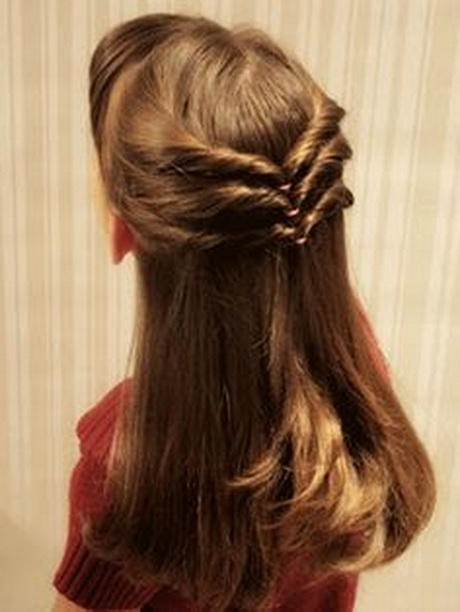 Perfect Cute Easy Party Hairstyle For Medium Hair No Heat Elegant Everyday