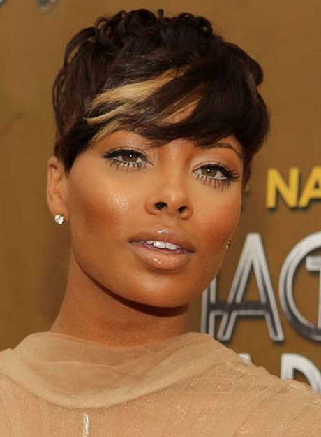 Super short haircuts for black women