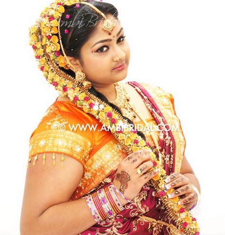 Tamil Bridal Hairstyle