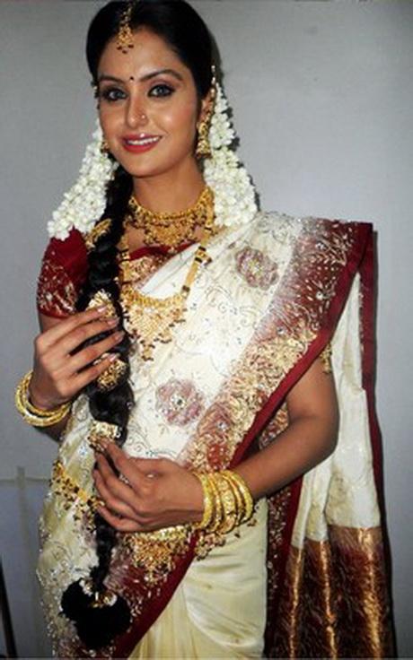 Tamilnadu bridal hairstyles