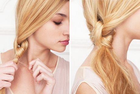 Hairstyles For Short Hair Tied Up : Tied hairstyles for long hair