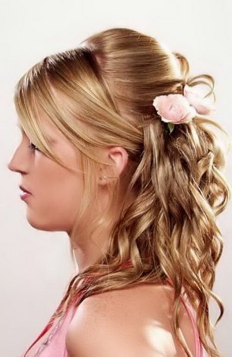 Tied up hairstyles for long hair