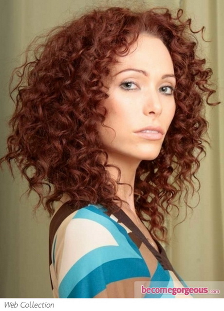 Unique Tight Curls Hairstyles