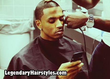 Trey songz haircut