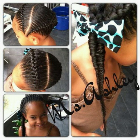 Two braid hairstyle. Pinned by Nakail Batemon
