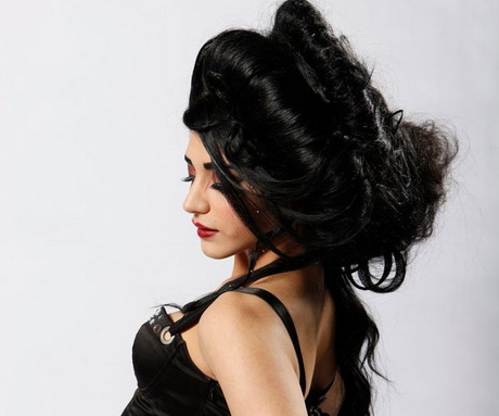 vintage prom hairstyles : Unique hairstyles