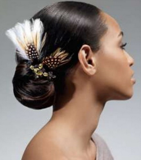 Hairstyles For Weddings Bridesmaid African American: Updo Black Hairstyles For Weddings