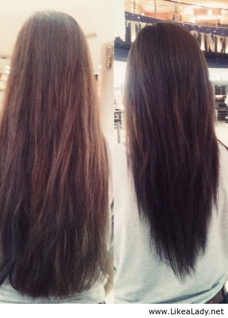 What Is Hair Cutting : layered haircut before and after. Yes please! Found on likealady.net
