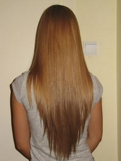 shaped haircut color shape haircut long v haircut. I love v shaped ...