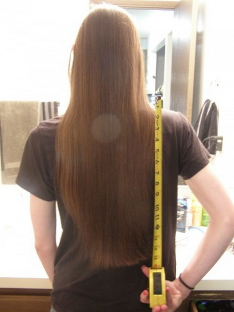 Very Long Hair Cut