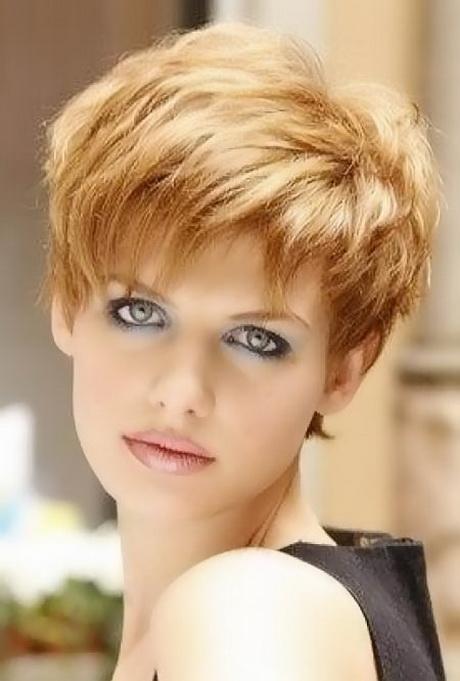 Very short haircut women