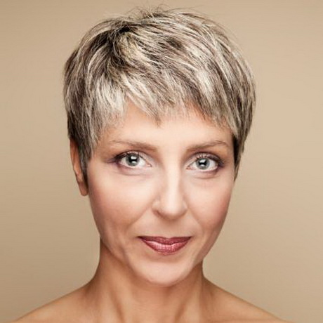 Very short haircuts for women over 50