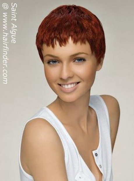 Hairstyles For Short Rough Hair : Very short haircuts with the waves and rough hair styles look trendy ...