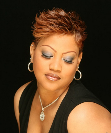 Very short hairstyles for black women over 50