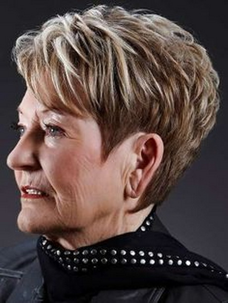 Very Short Hairstyles For Women Over 60