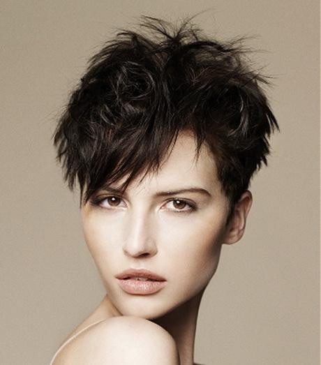 Very Short Layered Haircuts