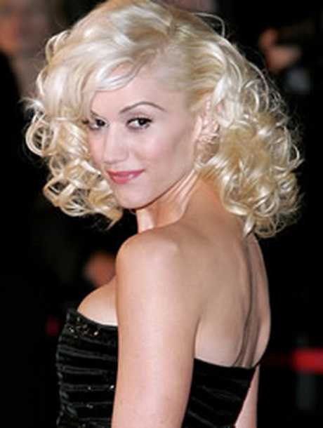 Hairstyles: Gwen Stefani Curly Hairstyle Hollywood-curly-hairstyles ...