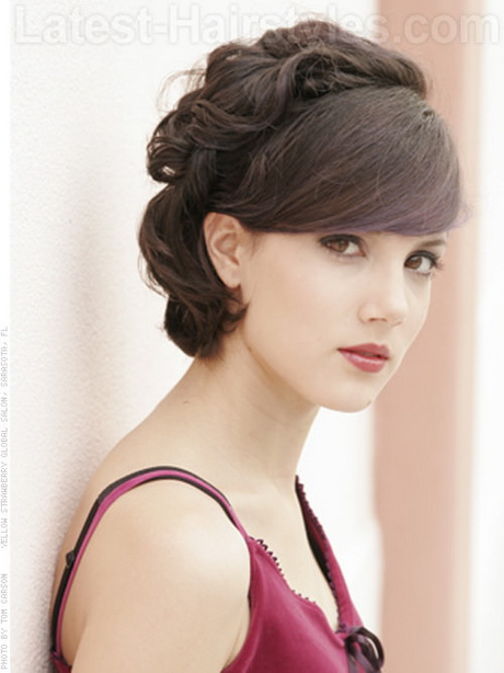 weave mohawk hairstyles : ... is perfect for shorter hair. Vintage Prom Hair Ideas for Shorter Hair