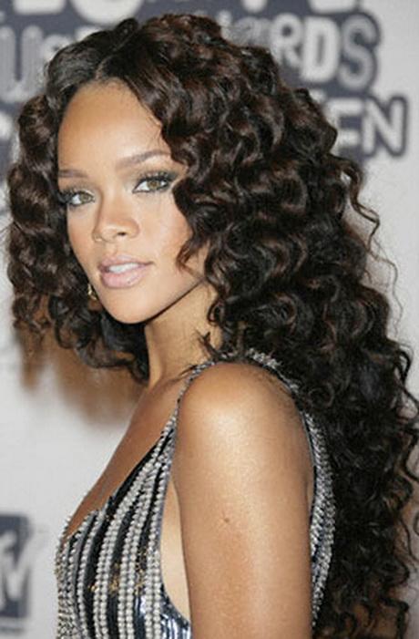 Wavy Hairstyles Extensions : Wavy weave black hairstyles
