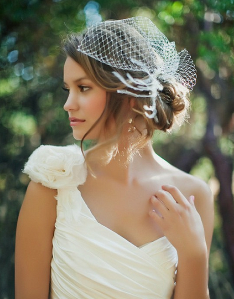 Consider, that vintage wedding hairstyles with birdcage veil dare