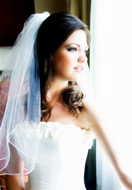 Wedding Hair Half Up Half Down With Veil