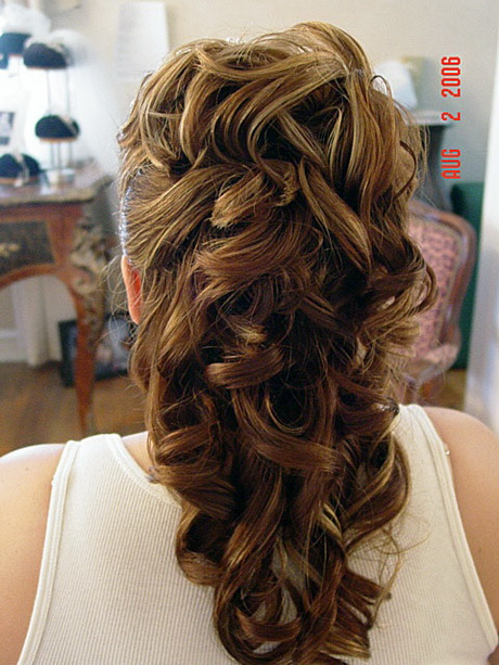 Wedding Hair Half Updos