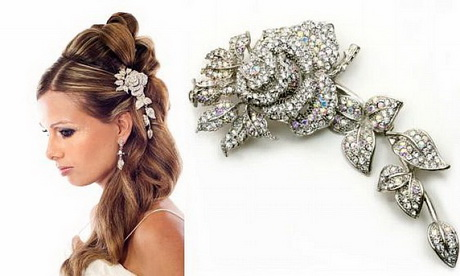 hair jewelry wedding style …