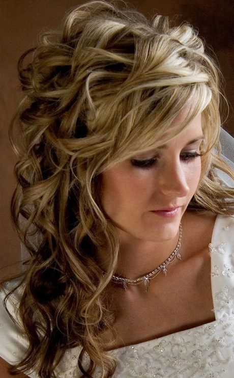 Wedding Hairstyles For Medium Hair With Bangs : Wedding hair styles for medium length