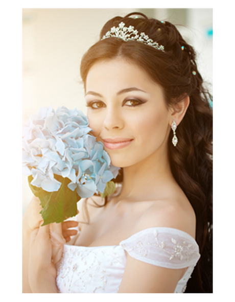 ... customized bridal hair styles and professional bridal makeup for