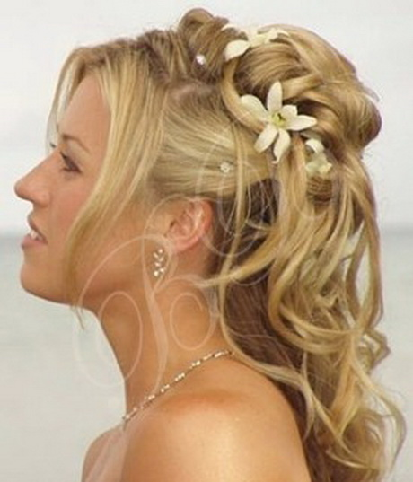 Wedding Bridesmaid Hairstyles For Long Hair: Wedding Hairstyles For Long Hair Half Up Half Down