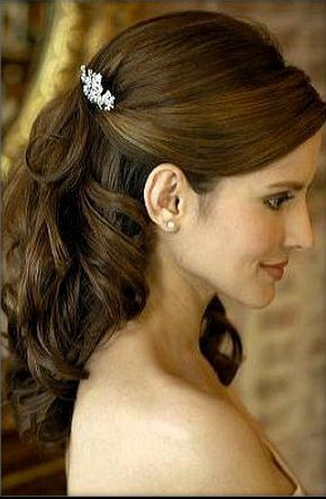 wedding hairstyles for long hair half up. Black Bedroom Furniture Sets. Home Design Ideas