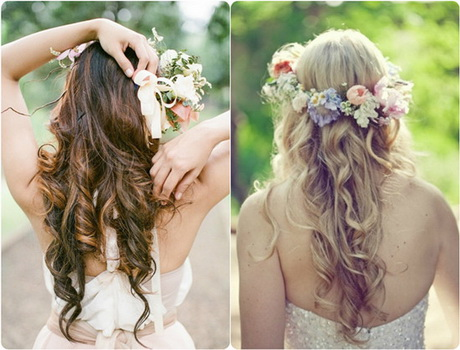 Long hair wedding flowers 212×300 long hair wedding flowers the