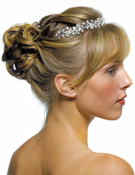 wedding hairstyles with headband. Black Bedroom Furniture Sets. Home Design Ideas