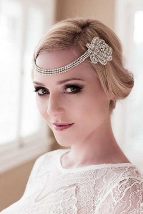 How To Style Wedding Hair Accessories With Short Hair ... |Very Short Hair For Wedding Headpieces