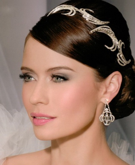 Wedding Hairstyles With Headpieces: Wedding Headpieces For Short Hair