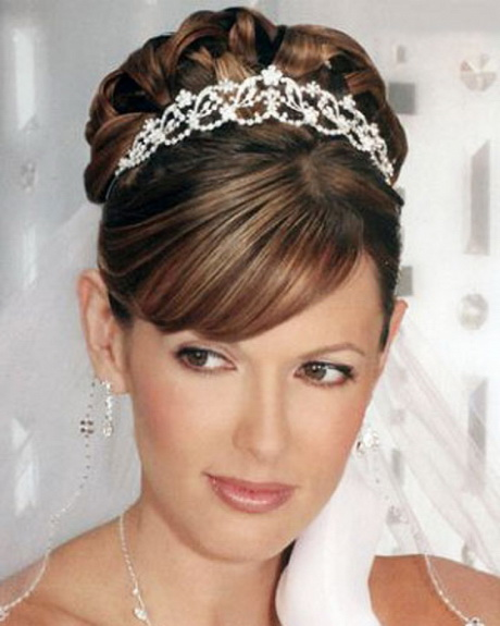 Medium Length Hairstyles For Weddings: Wedding Updos For Medium Length Hair