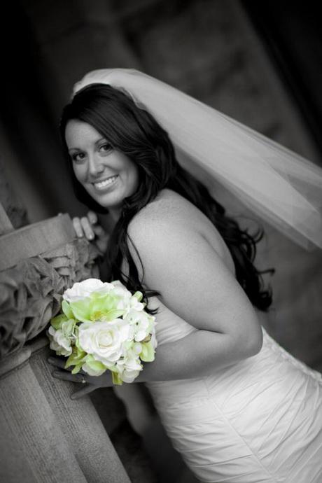 Wedding Veils With Hair Down