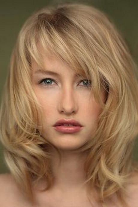 ... blondes side bangs side wispy bangs hairstyl layered hair wavi layer