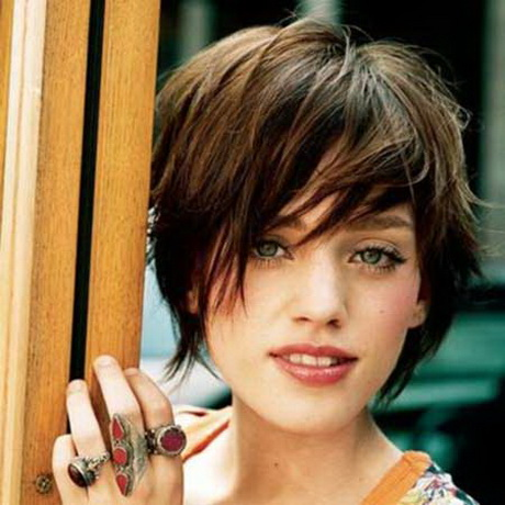 pictures of short haircuts with bangs short hairstyles 2014
