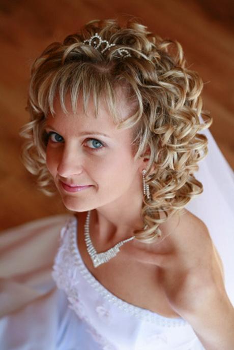 Причёски на короткие волосы для свадьбы