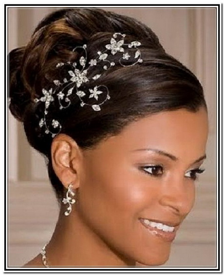 Wedding updo hairstyles black hair