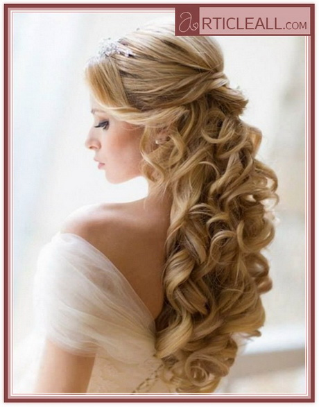 Wedding Hairdos For Naturally Curly Hair : Bridal hairstyles for long curly hair