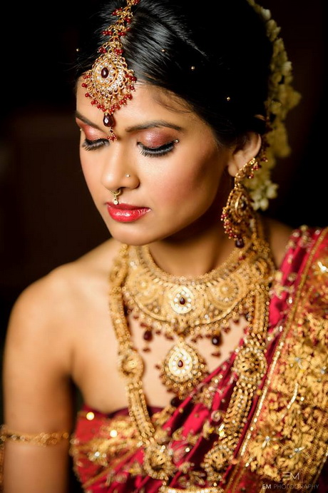 Indian Bridal Hairstyles South Indian