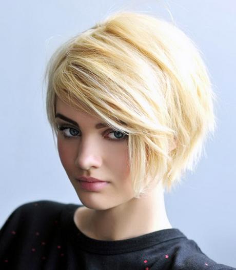 Cute medium length haircuts for round faces